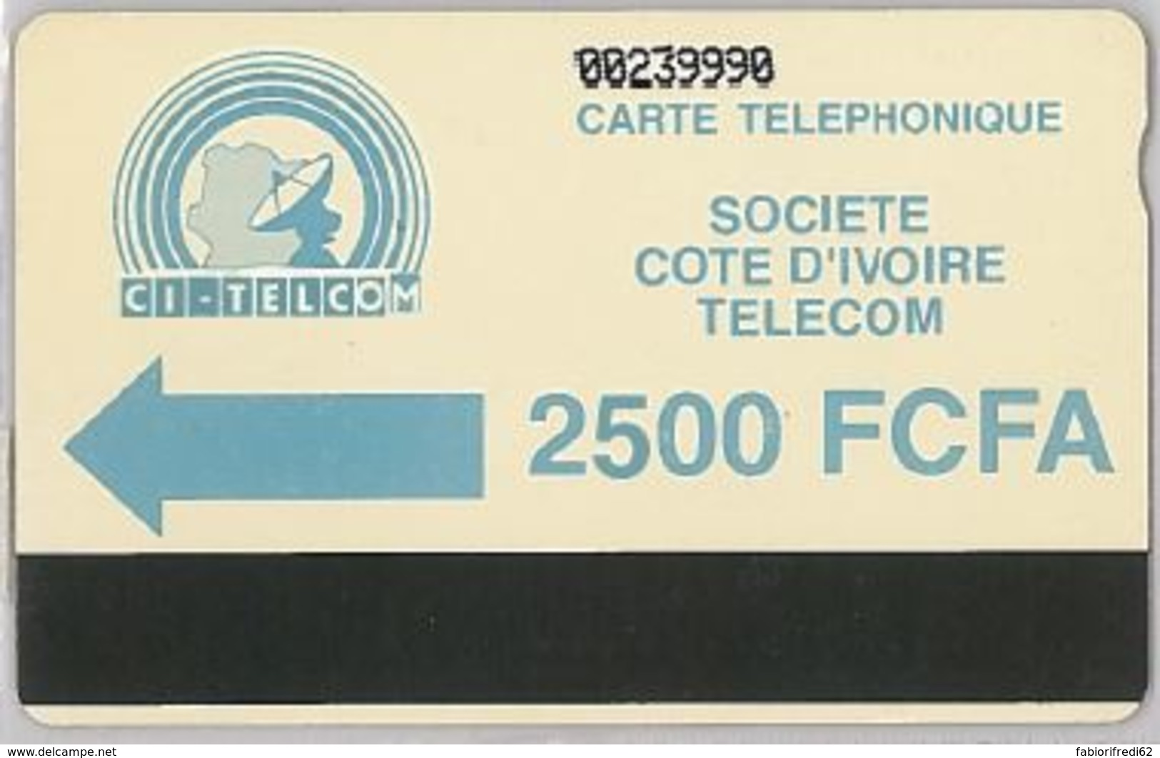 PHONE CARD - COSTA D'AVORIO (E44.29.3 - Côte D'Ivoire