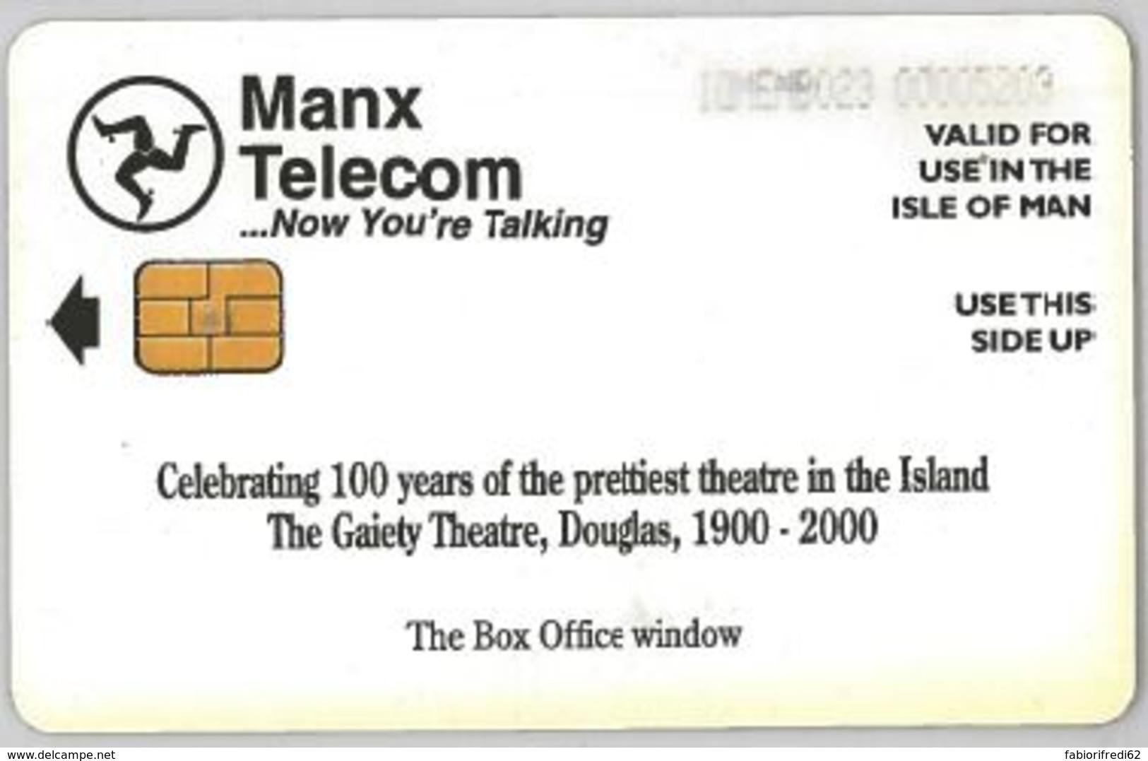 PHONE CARD - ISLE MAN (E44.34.5 - Isla De Man