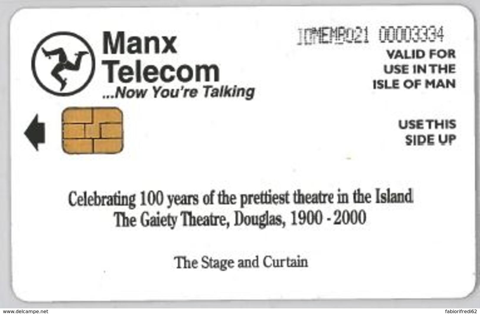 PHONE CARD - ISLE MAN (E44.34.6 - Isla De Man