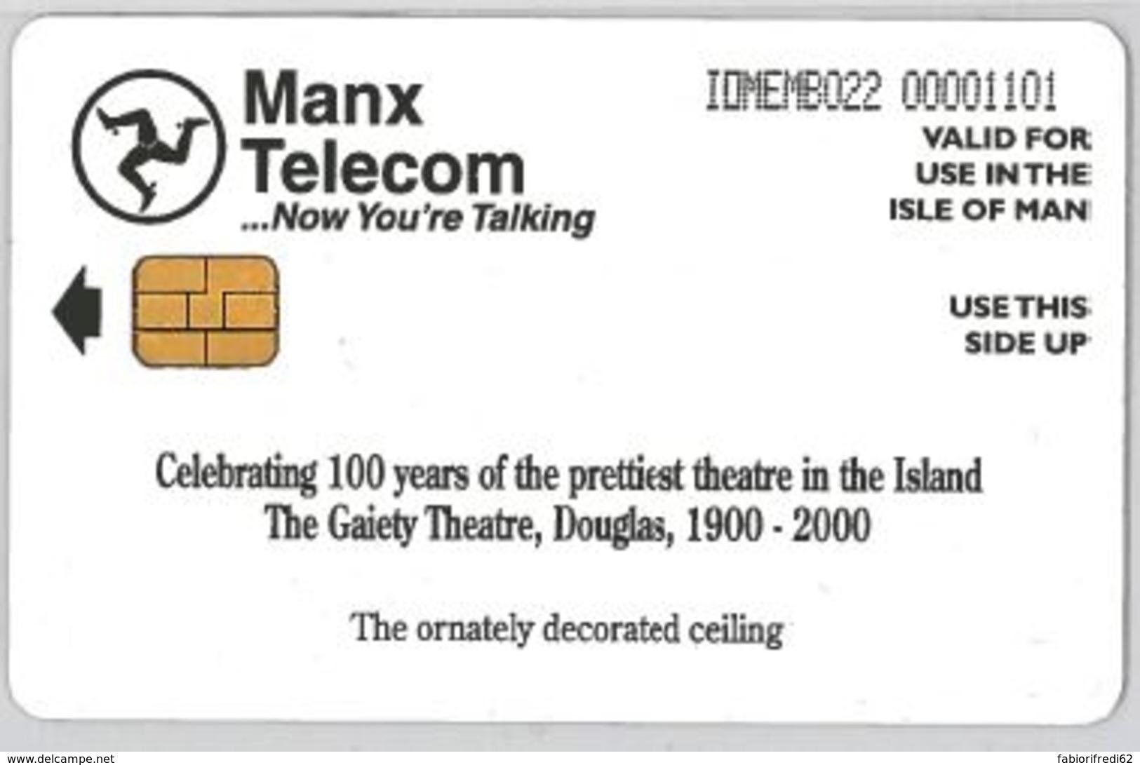 PHONE CARD - ISLE MAN (E44.34.8 - Isla De Man
