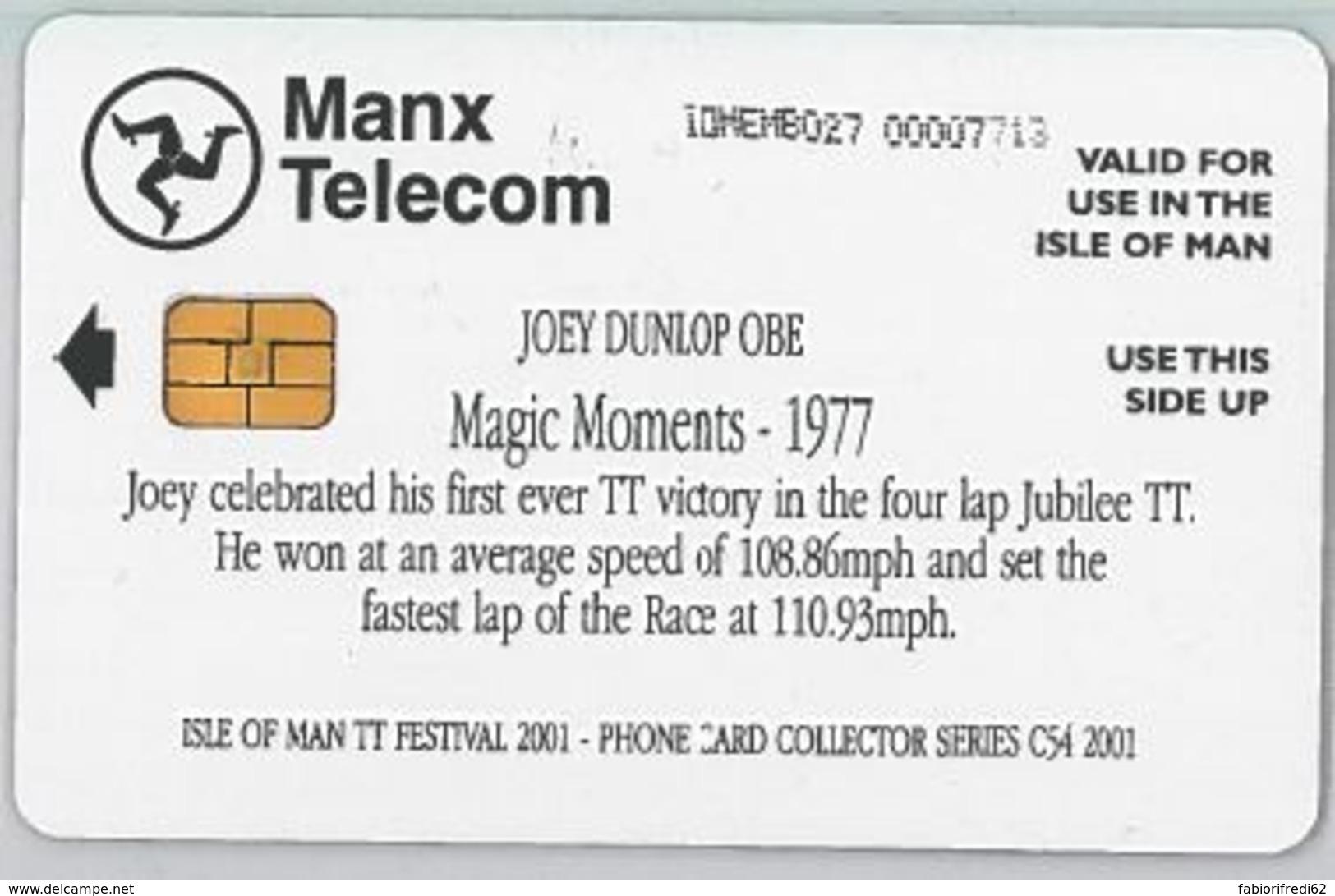 PHONE CARD - ISLE MAN (E44.35.2 - Isola Di Man
