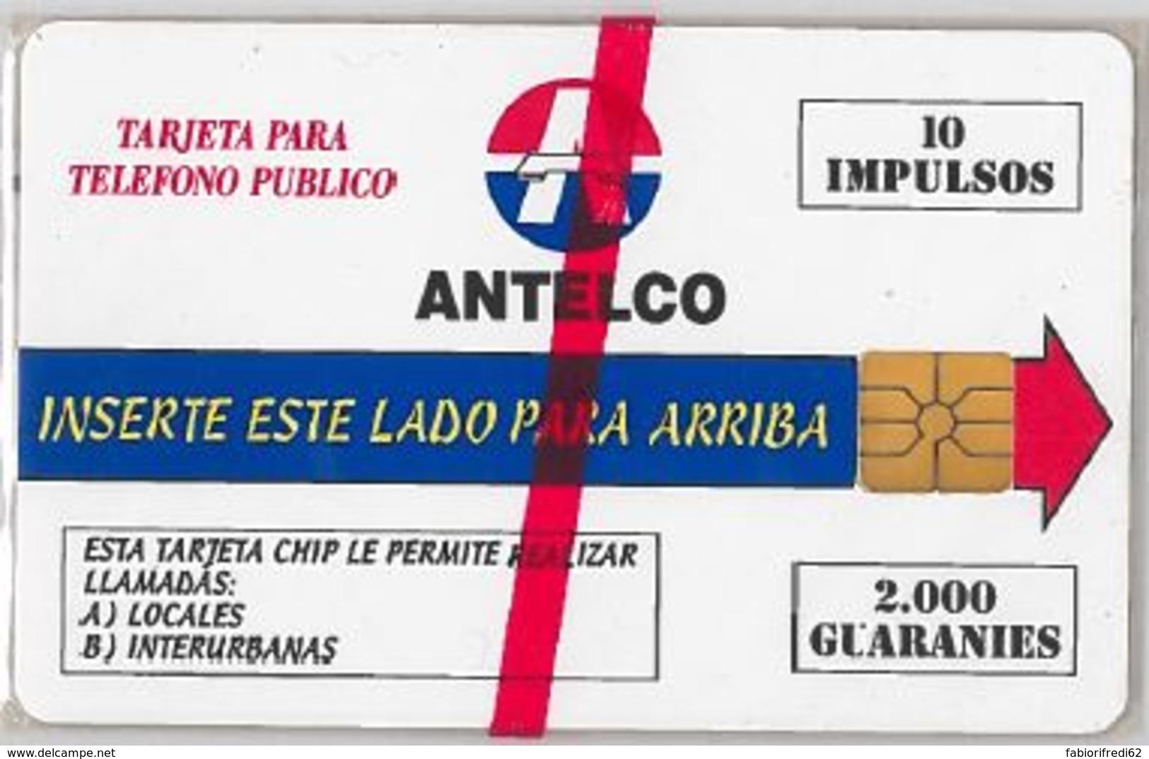 PHONE CARD - PARAGUAY (E44.38.5 - Paraguay