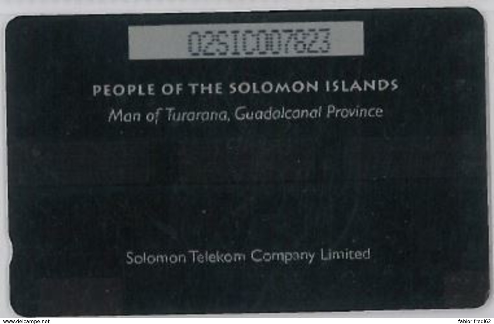 PHONE CARD - SOLOMON ISLAND (E44.39.3 - Isole Salomon