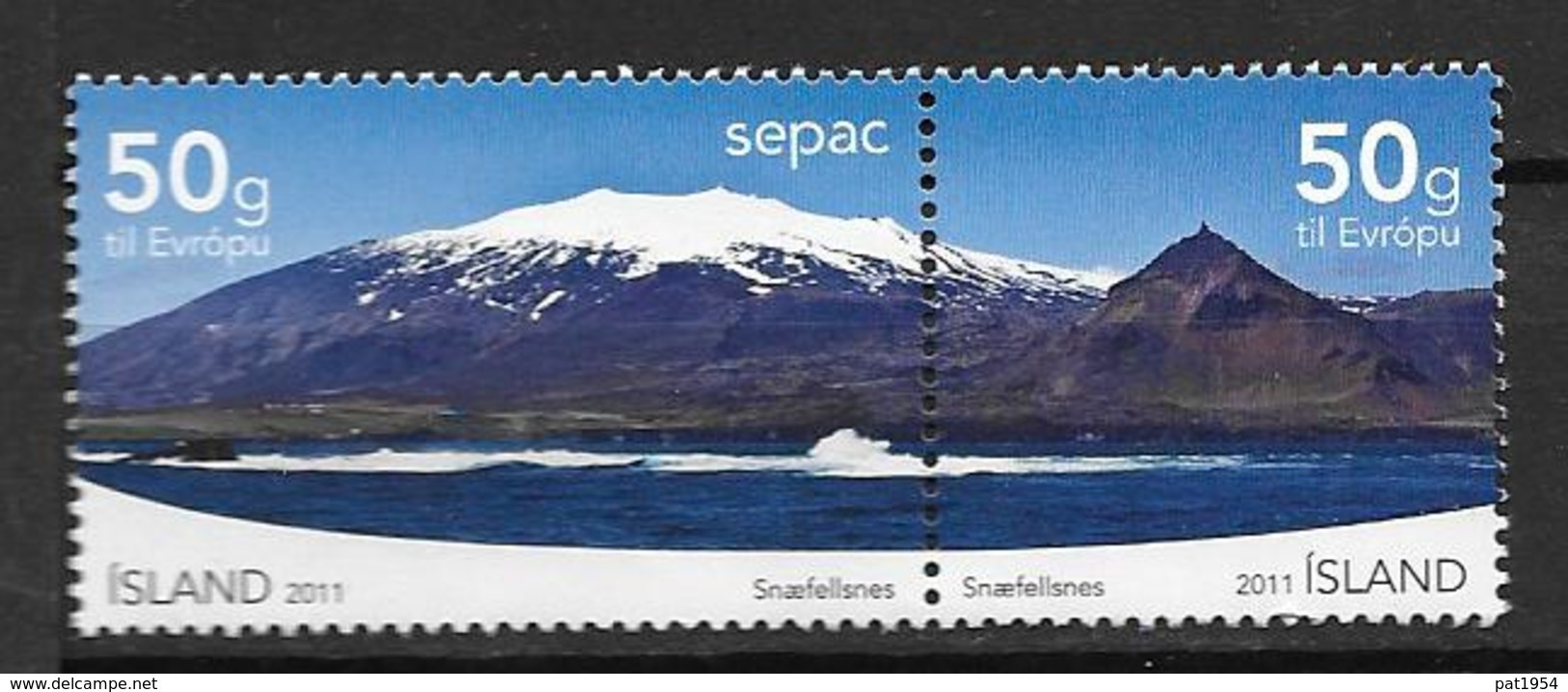 Islande 2011, N°1254/1255 Neufs Snaefellsnes - 1944-... Republik