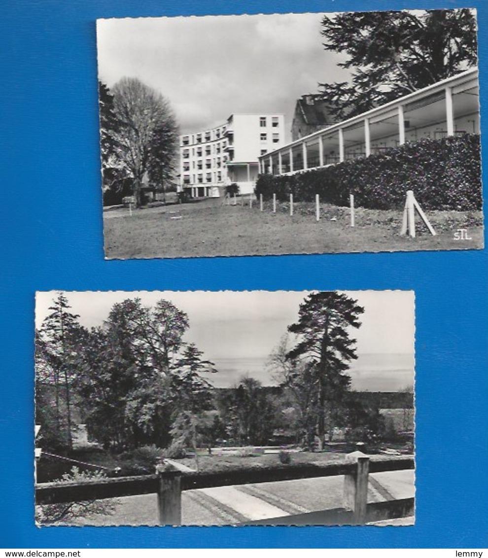 53 - CLAVIÈRES -   LE SANATORIUM - LOT DE 2 CARTES - CPSM DENTELÉES  1969 - VERSO - Other Municipalities