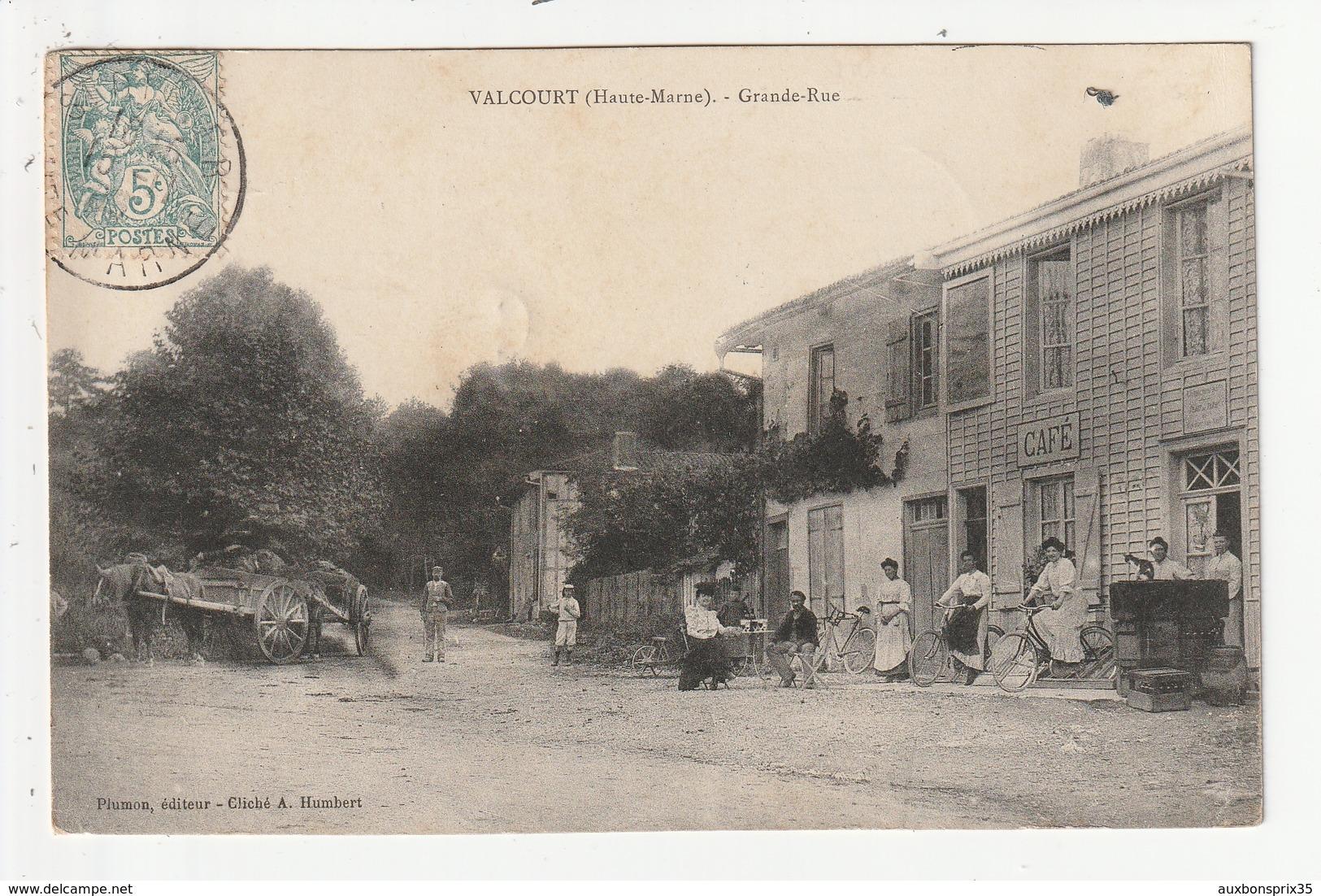 VALCOURT - GRANDE RUE - CAFE - 52 - France