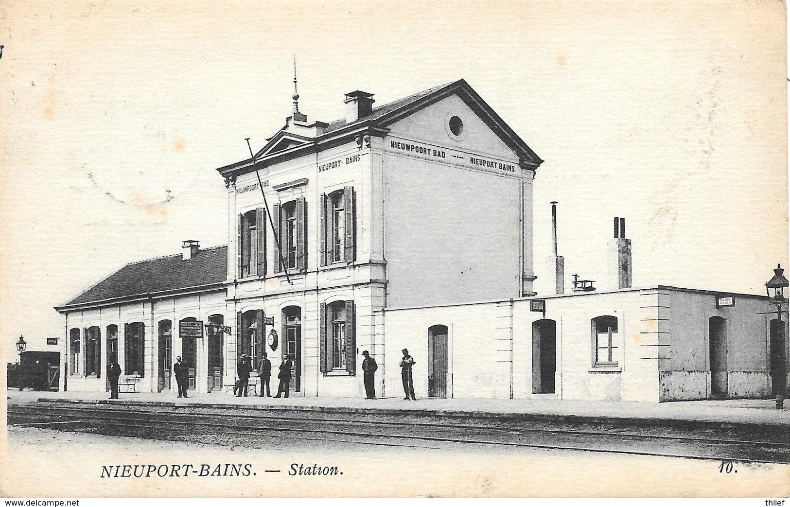 Nieuport-Bains NA64: Station - Nieuwpoort