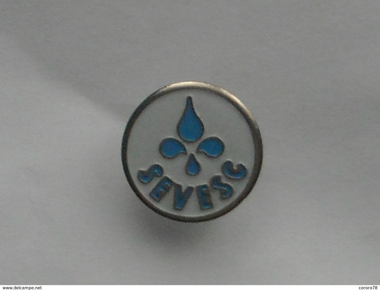 PIN'S -   SEVESC- (Service Des Eaux) - Trademarks