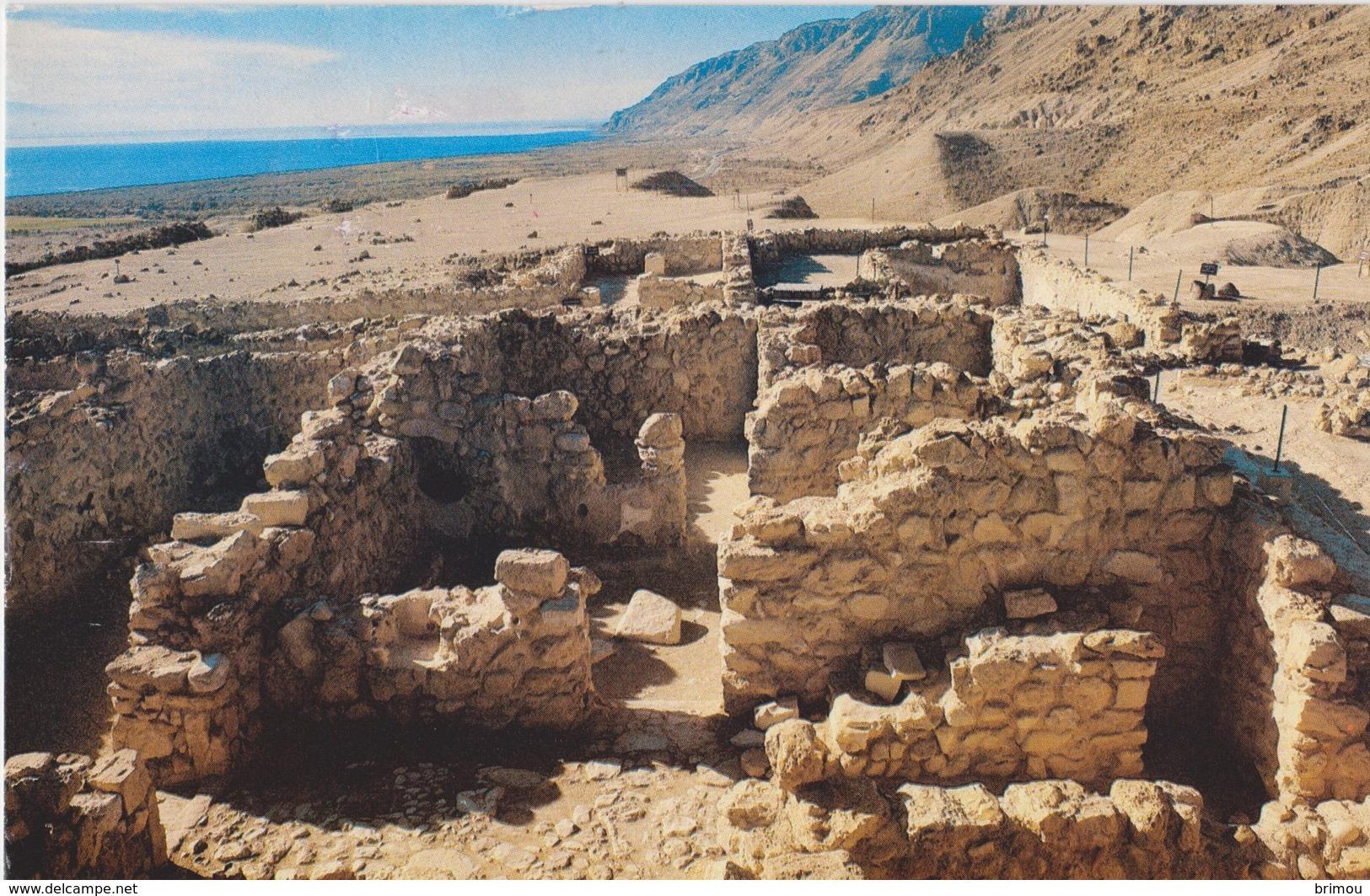Jordanie, Qumran, Carte Postale Circulée. - Jordanie