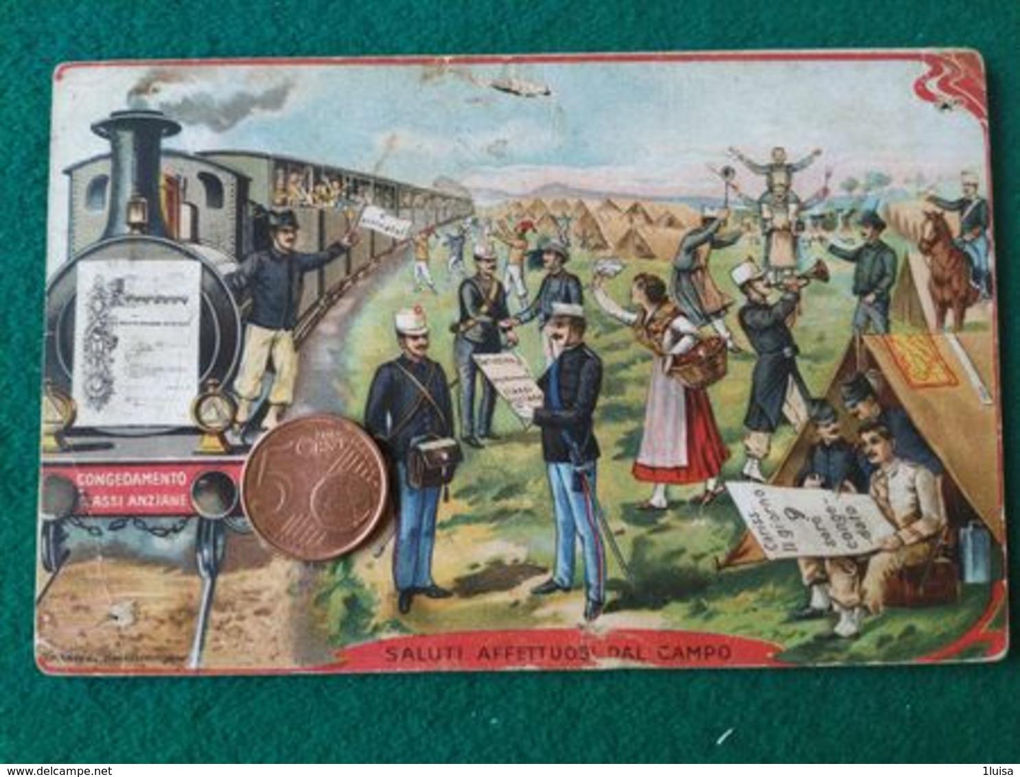 ITALIA Saluti Affettuosi Dal Campo - Guerra 1914-18