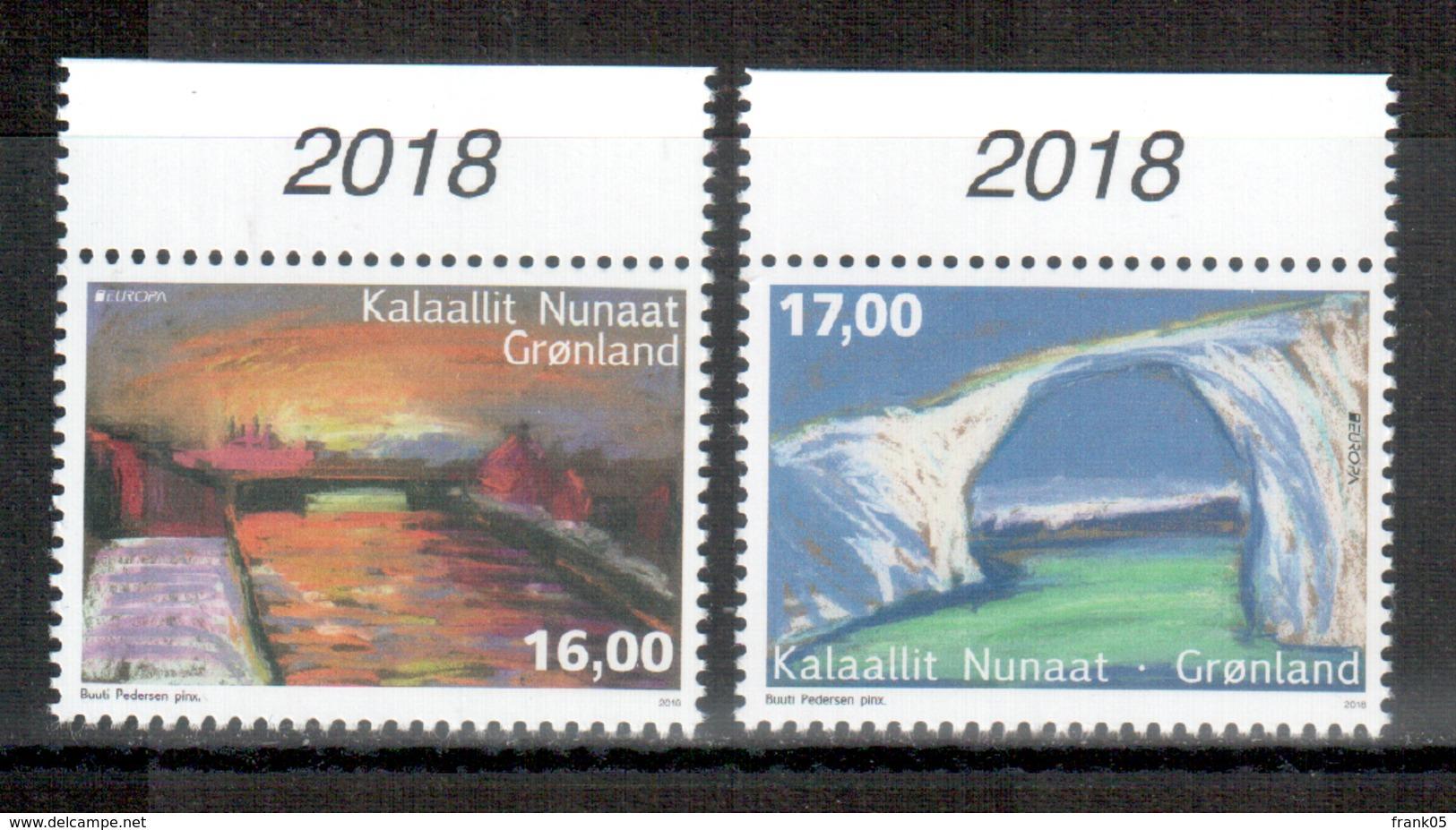 Grönland / Greenland / Groenland 2018 Satz/set EUROPA ** - 2018