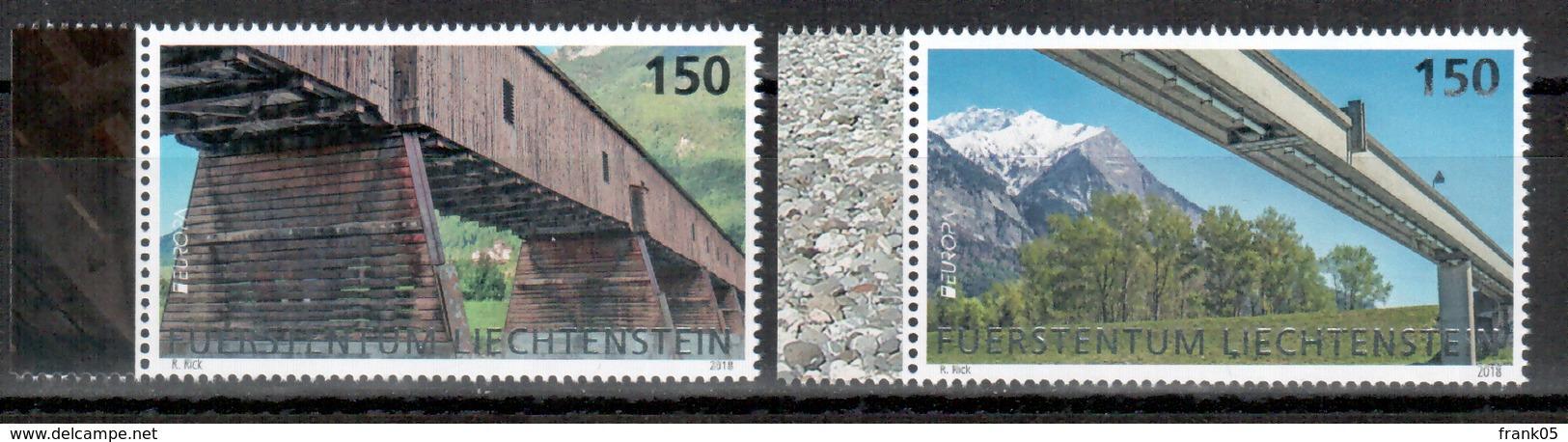 Liechtenstein 2018 Satz/set EUROPA ** - 2018