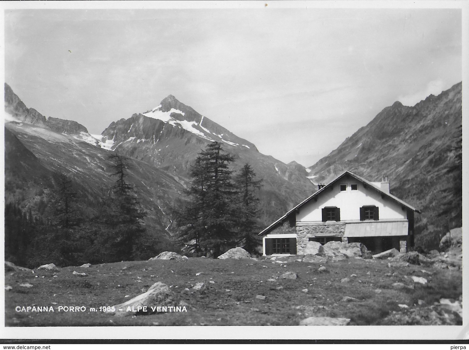 ALPE VENTINA - CAPANNA PORRO - VALMALENCO - EDIZ. DONADELLI - NUOVA - Alpinisme