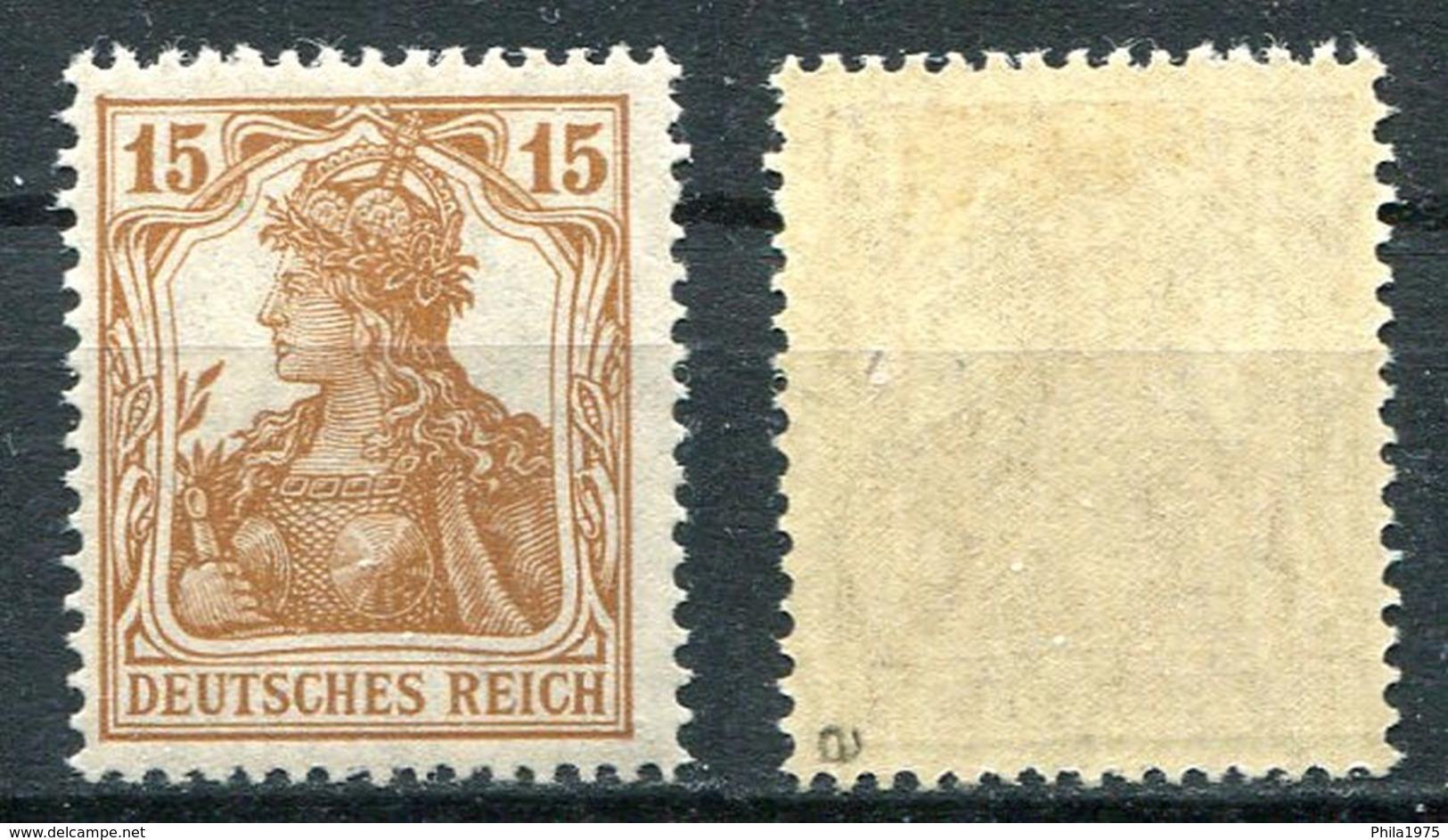 Deutsches Reich Michel-Nr. 100a Postfrisch - Geprüft - Ungebraucht