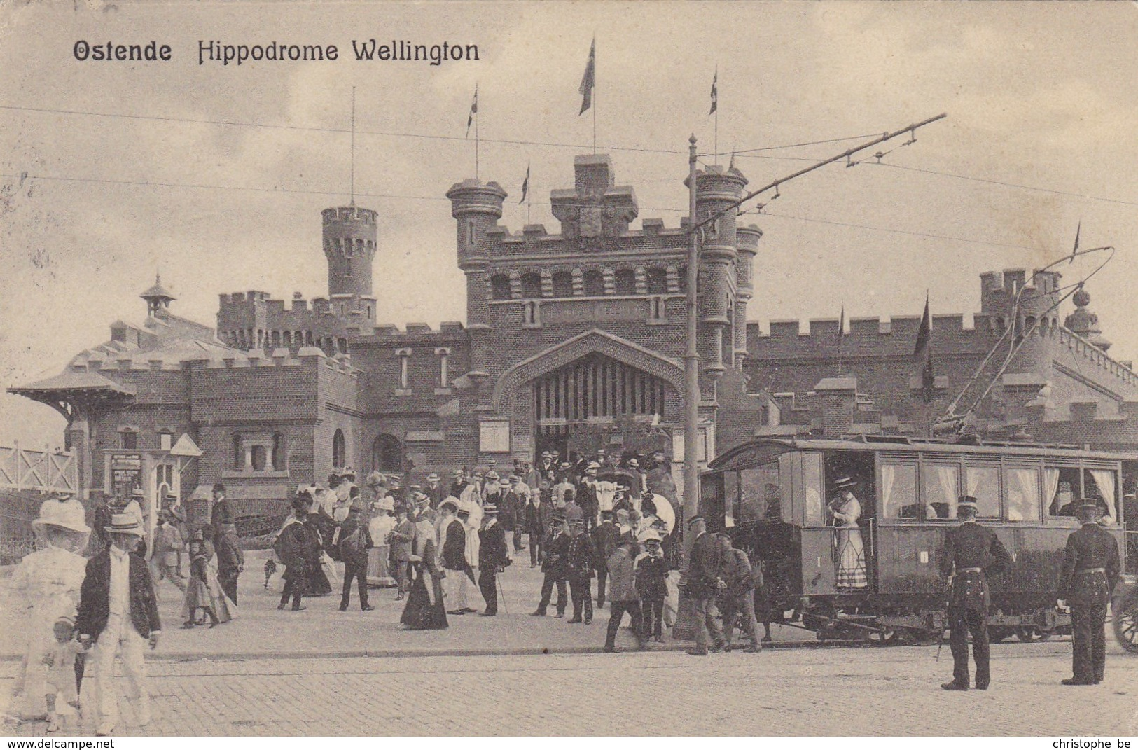 Oostende, Ostende, Hippodrome Wellington, Tram (pk57046) - Oostende