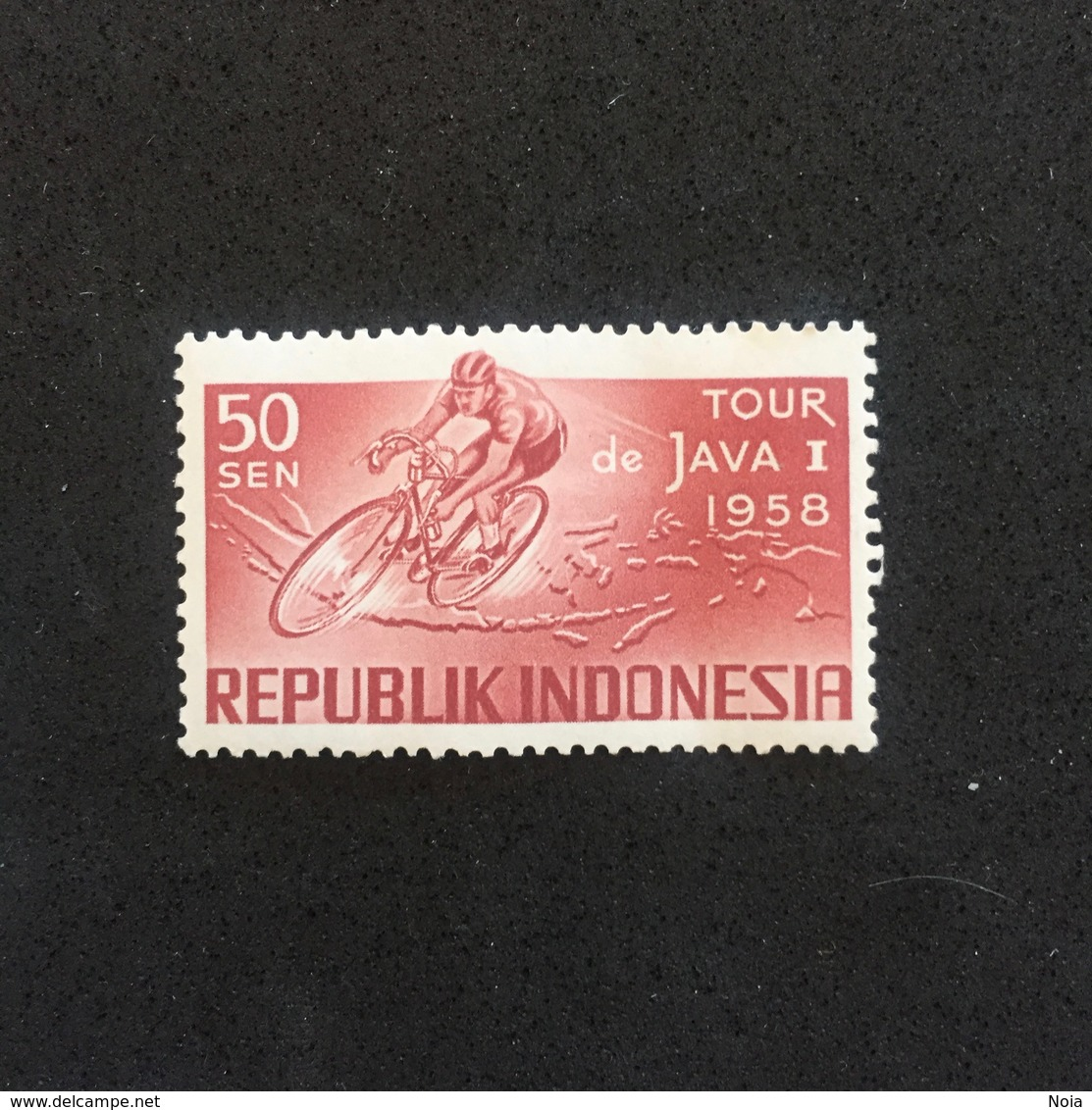 INDONESIA. JAVA TOUR 1958. MNH. C3705A - Cycling