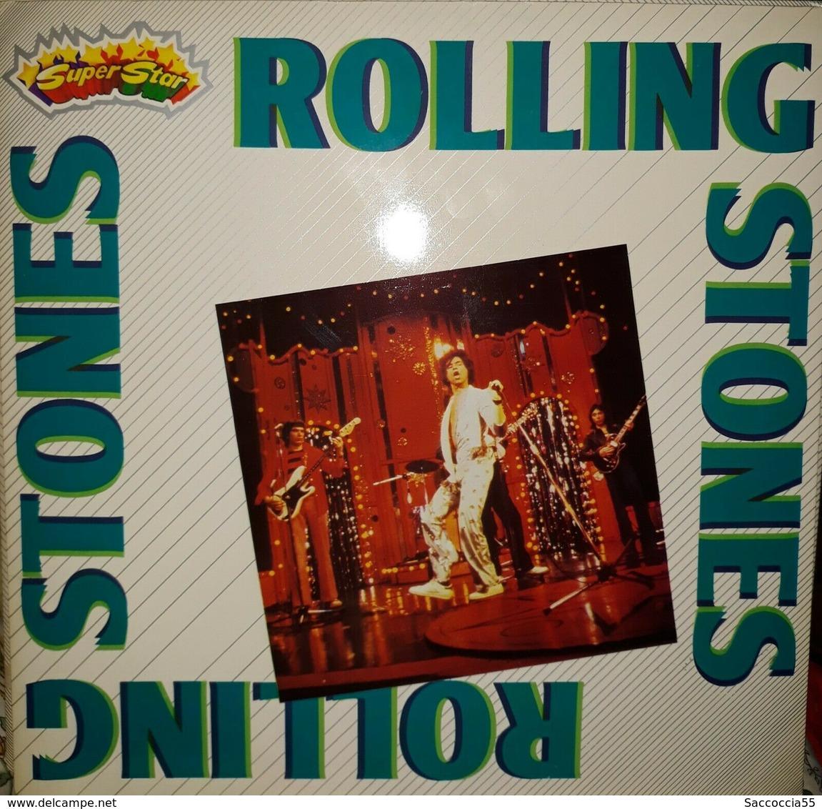 LP 33 GIRI SUPER STAR ROLLING STONES CURCIO ITALY - Compilations