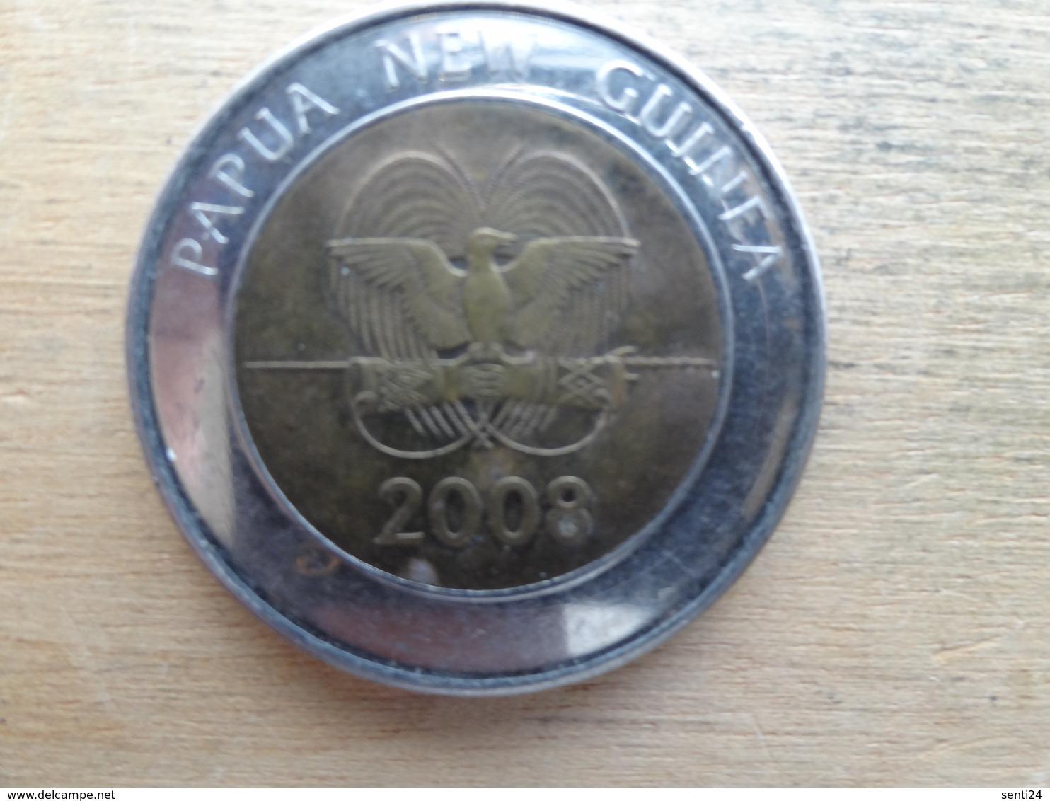 Papua New Guinee   2  Kina  2008  Km 51 - Papoea-Nieuw-Guinea
