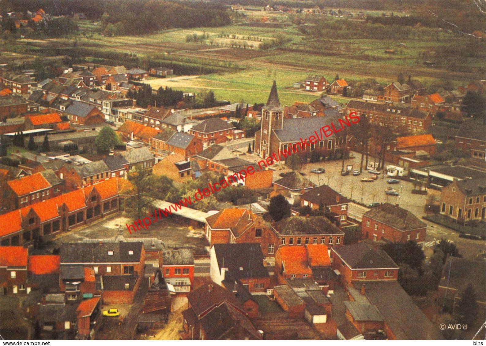 Lente 1985 - Centrum Met Zicht Op Kerk School En Calvenne - Tremelo - Tremelo