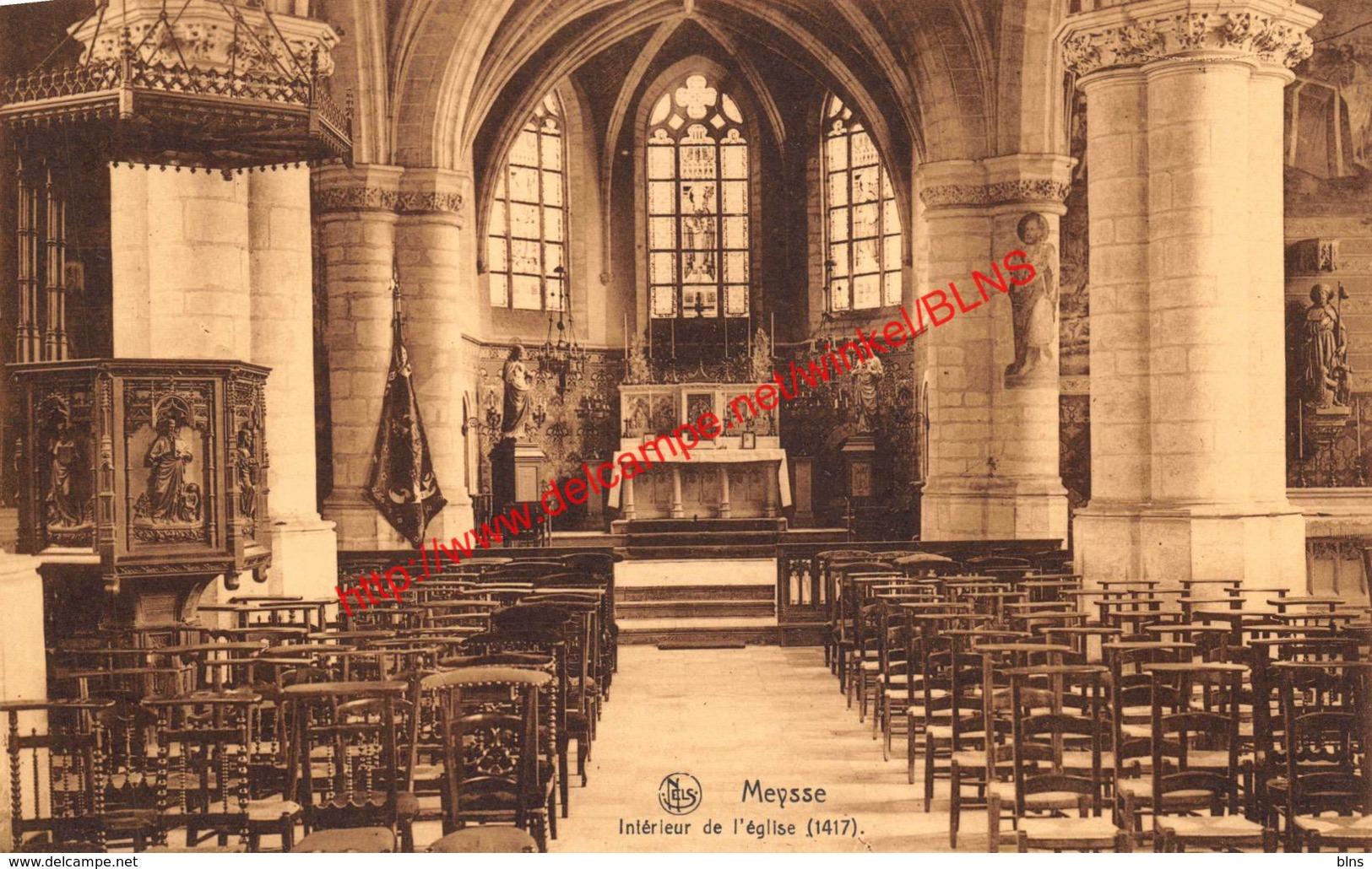 Intérieur De L'église - Meysse - Meise - Meise