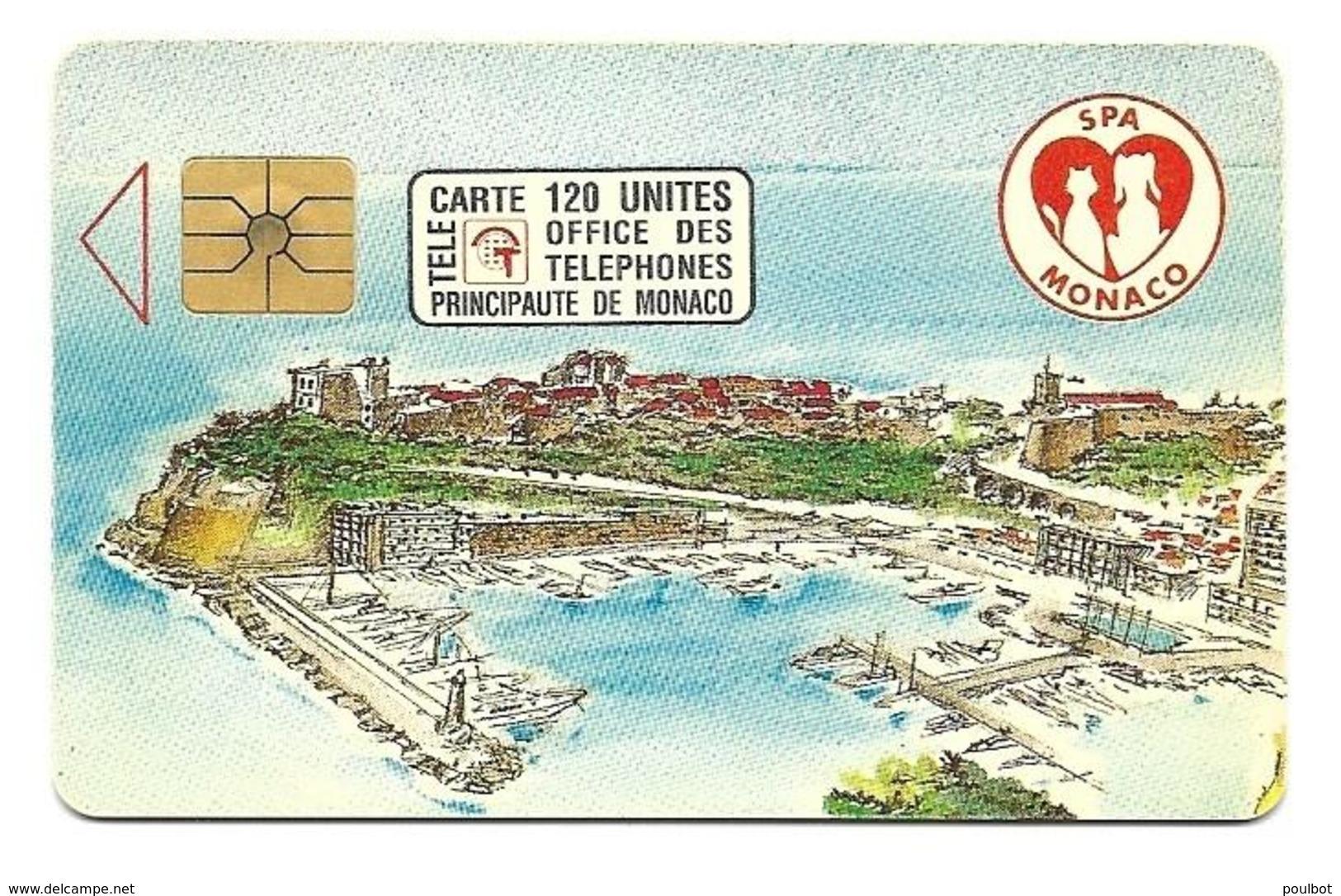 Télécarte Monaco MF 23 SPA De Monaco - Monaco