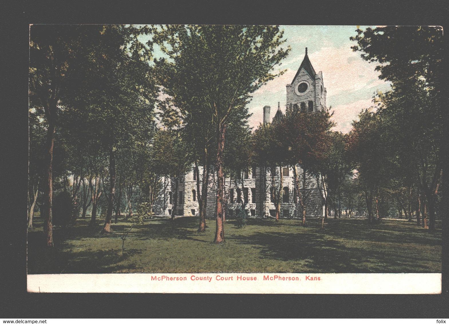 McPherson - McPherson County Court House - Etats-Unis