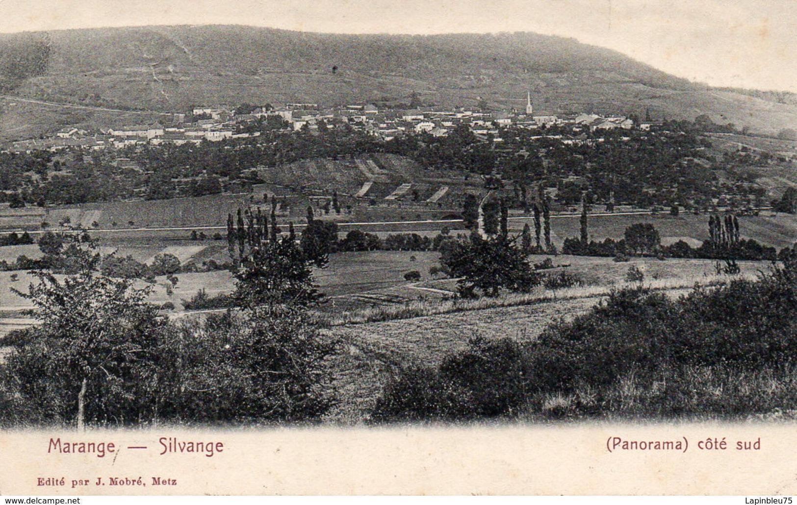 CPA 57 Moselle Marange Silvange Panorama Côté Sud - Autres Communes