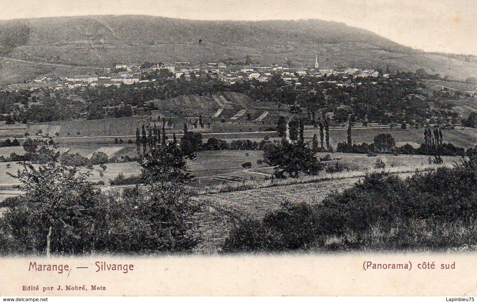 CPA 57 Moselle Marange Silvange Panorama Côté Sud - France