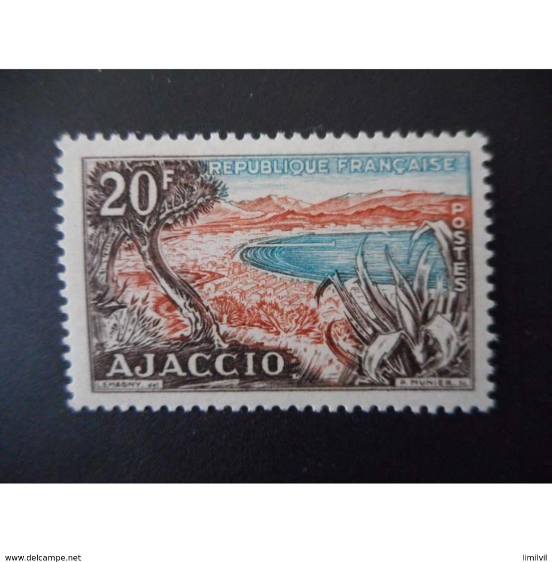 Timbre N° 981 Neuf ** - Baie D'Ajaccio (Corse) - Frankreich