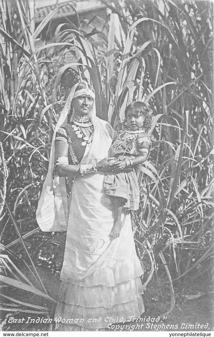 10750 - Trinidad - East Indian Woman And Child - Trinidad