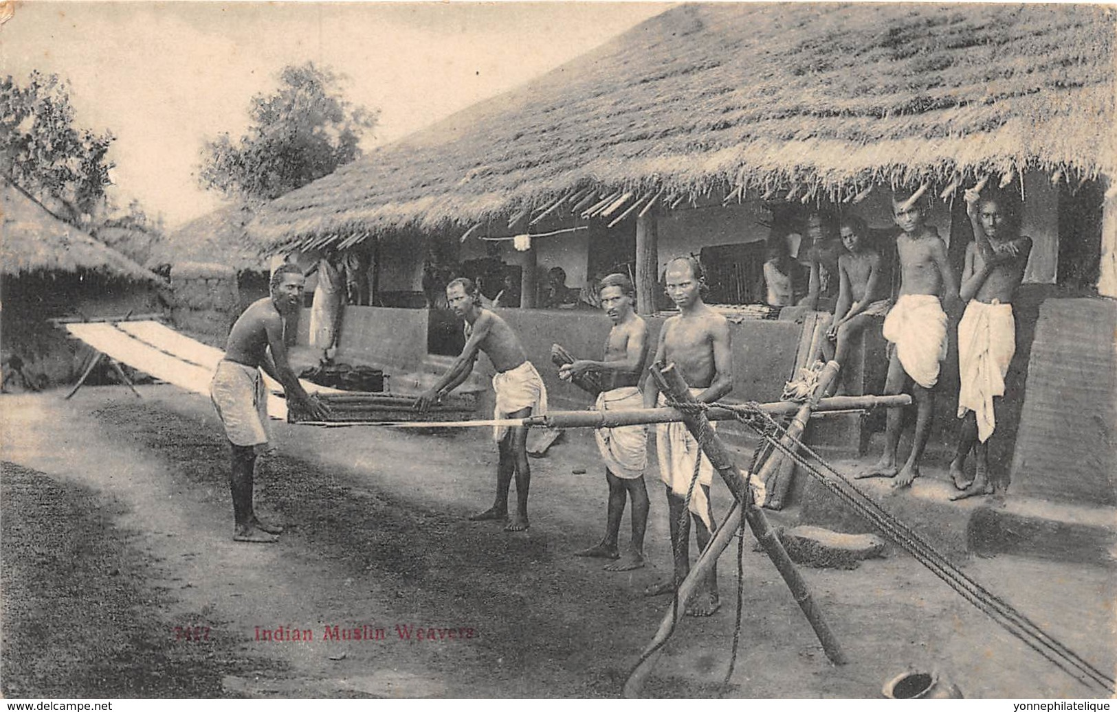 10755 - Trinidad - Indian Muslin Weavers - Trinidad