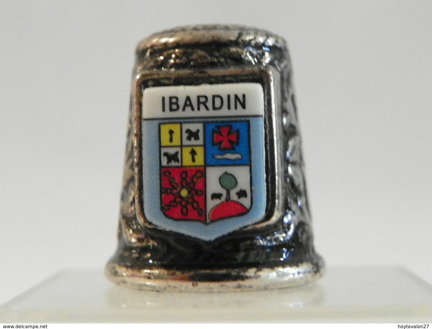 """Dé En Acier """"Ibardin"""" - Vingerhoeden"""