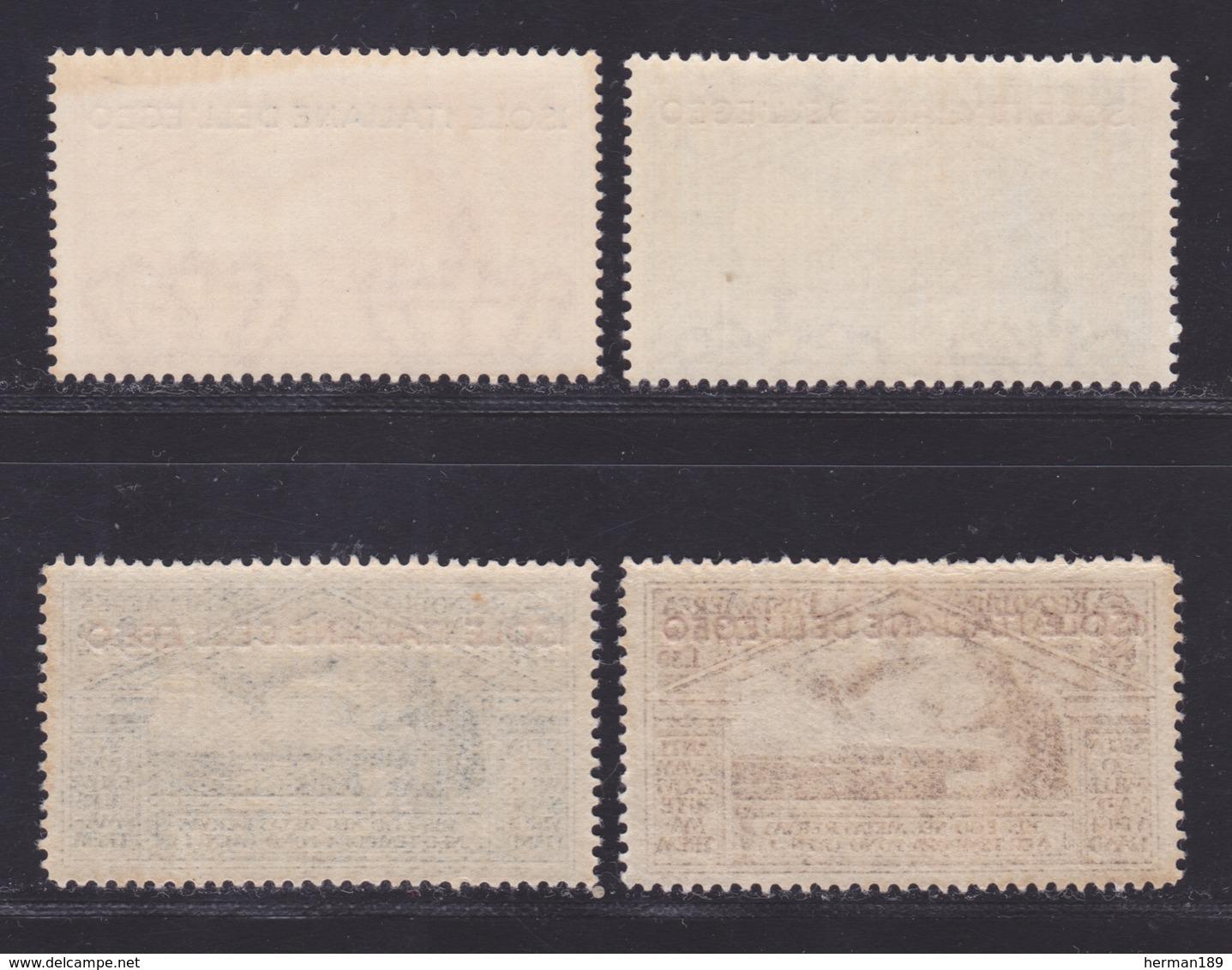 EGEE AERIENS N°   4 à 7 ** MNH Neufs Sans Charnière, TB (D8723) Virgile - 1930 - Aegean