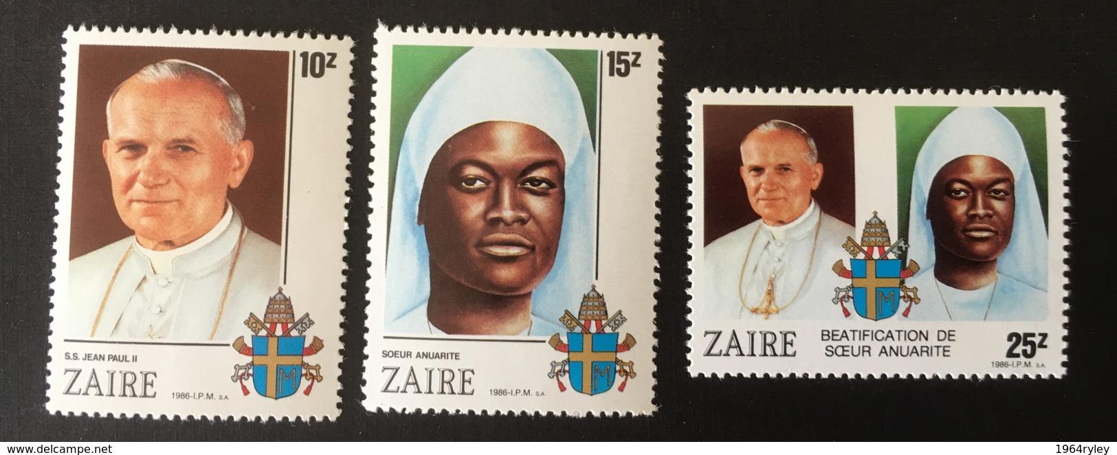 ZAIRE - MNH** - 1986 - # 928/930 - Zaïre