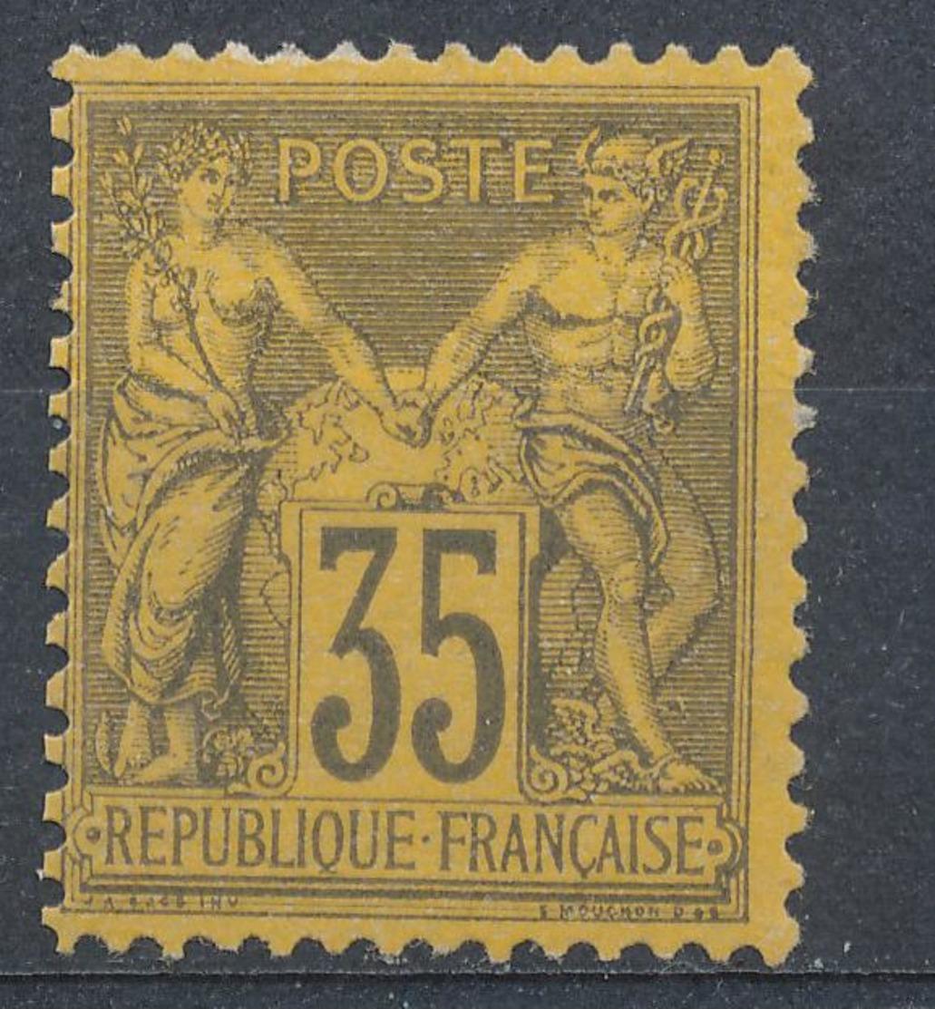 N°93 TIMBRE NEUF ( ** ) - 1876-1898 Sage (Type II)