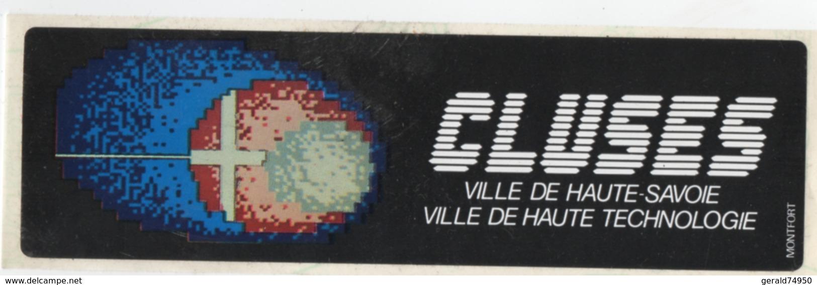 Autocollant Ville De Cluses (74) - Autocollants