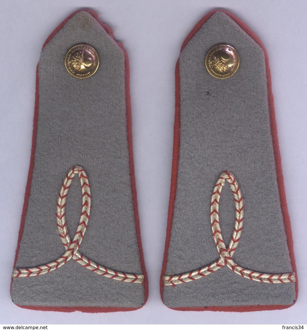 Epaulettes D'Elève Aspiran De L'Ecole Spéciale Militaire De Coëtquidan - Equipement
