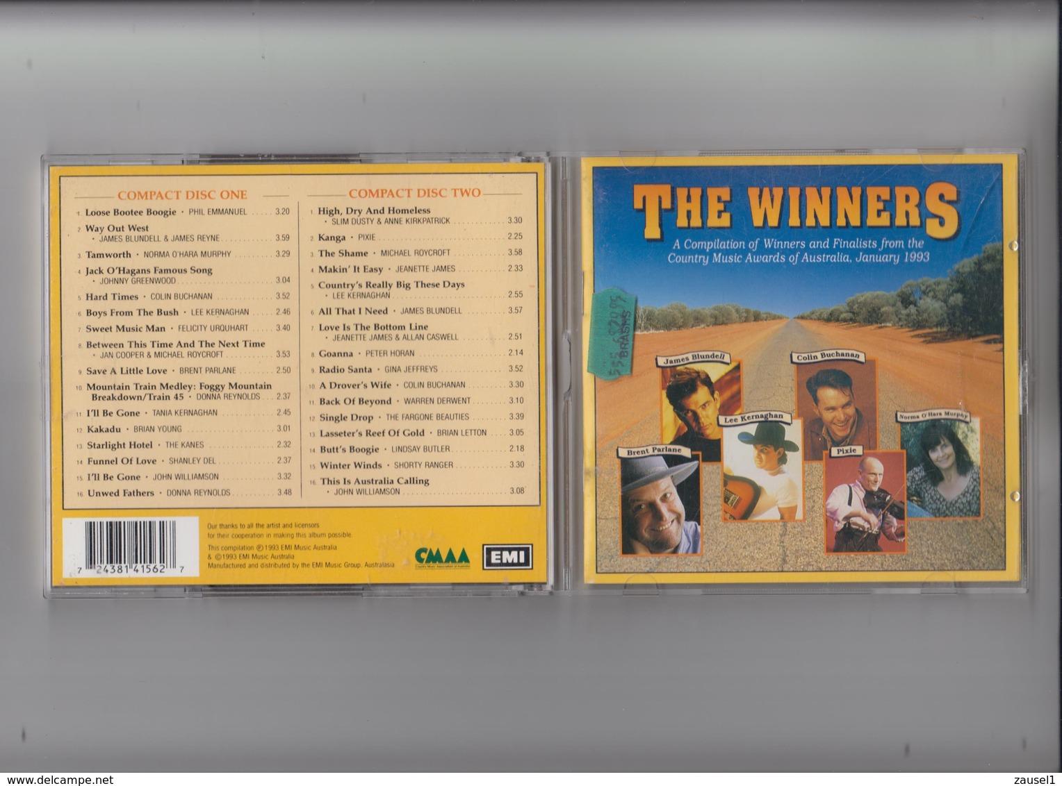 TAMWORTH WINNERS  (Volume 1) - 1993 - 2  Original CDs Der Ersten Winners - Ausgabe - Country & Folk