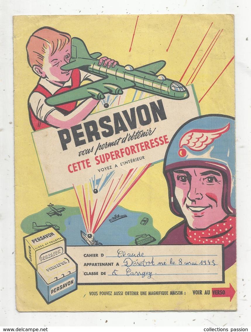 Protége Cahier ,  PERSAVON ,  2 Scans, Frais Fr : 1.75€ - Protège-cahiers