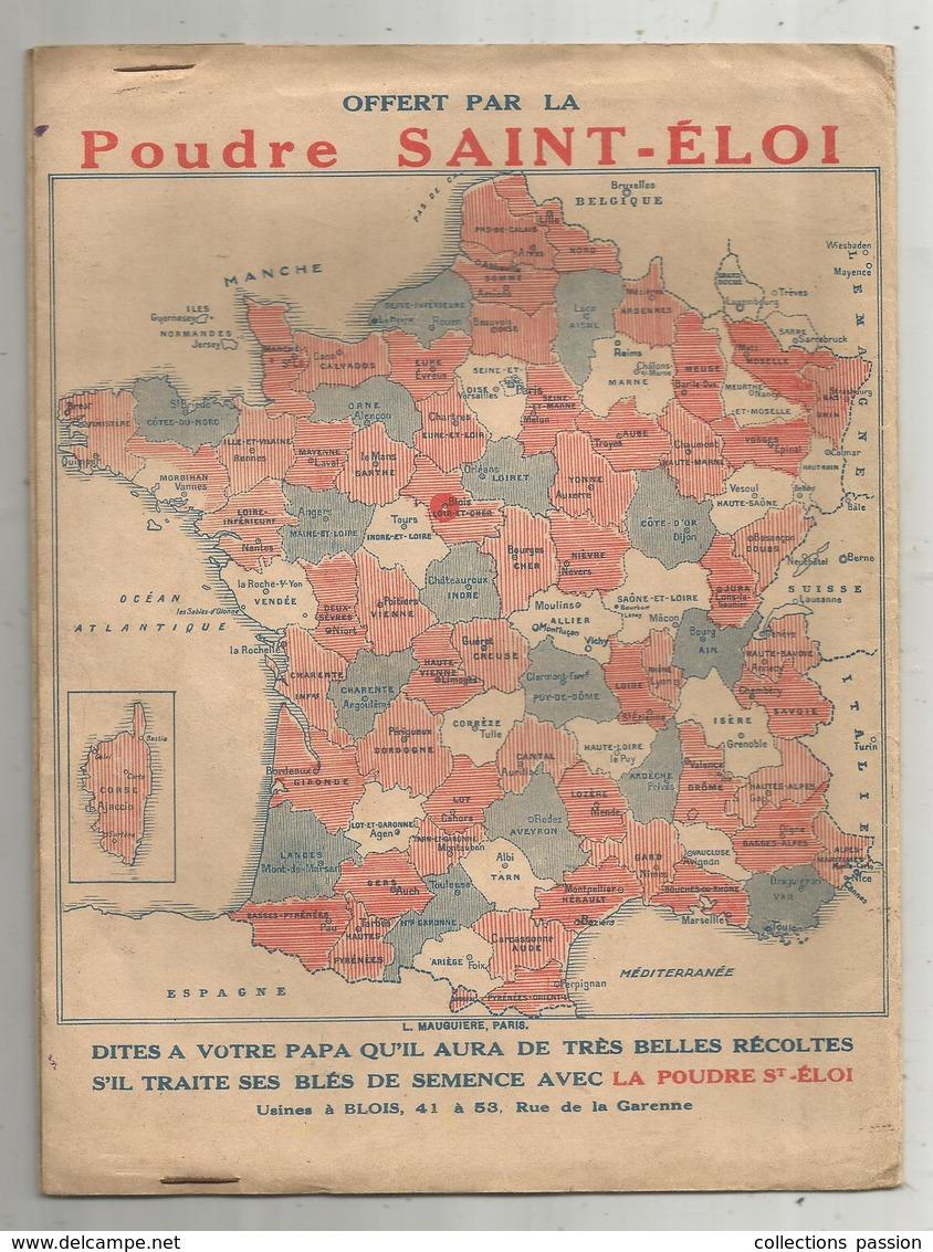 Protége Cahier ,  LA POUDRE ST ELOI ,le Chat Botté,  2 Scans, Frais Fr : 1.75€ - Protège-cahiers