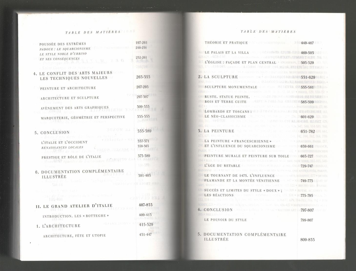 CHASTEL - RENAISSANCE ITALIENNE 1460-1500 - 1999 - Historia