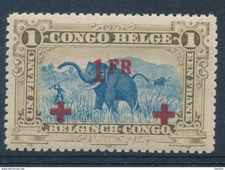 BELGISCH-KONGO - OBP Nr 78 - MNH** - Cote 6,00 € - 1894-1923 Mols: Neufs