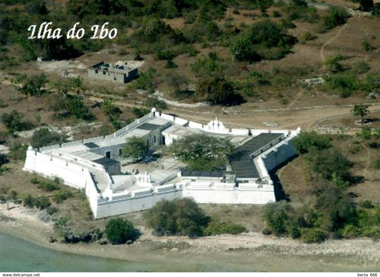 Mozambique Ibo Island Fort Aerial View New Postcard Mosambik AK - Mozambique