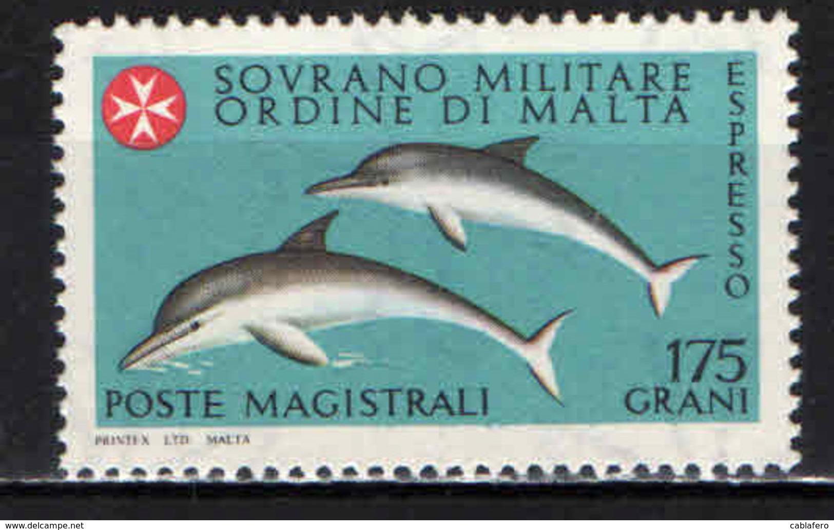 SMOM - 1980 - DELFINI IN EMERSIONE - MNH - Malte (Ordre De)