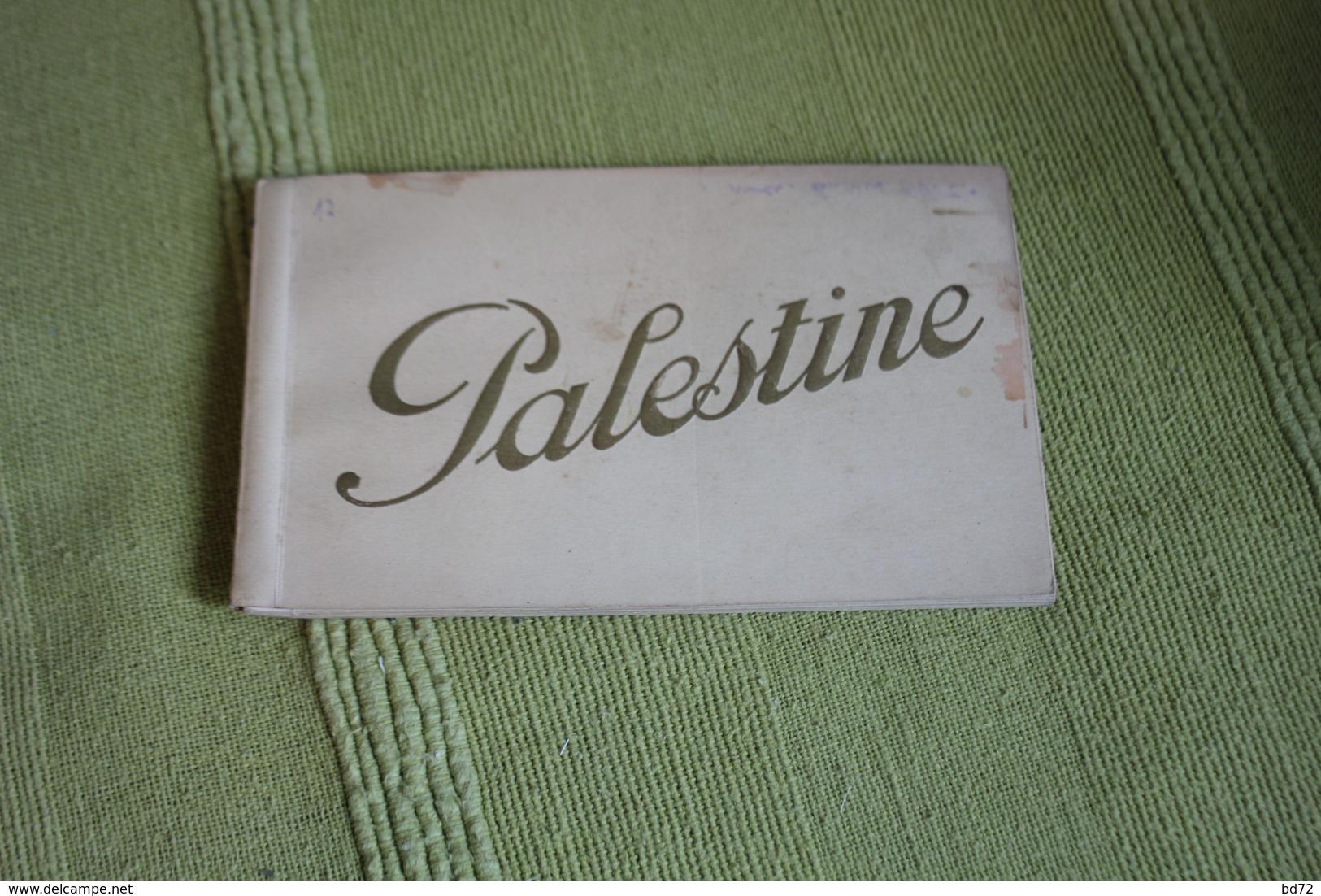 PALESTINE - Carnet Complet De 10 Cpa - Palestine