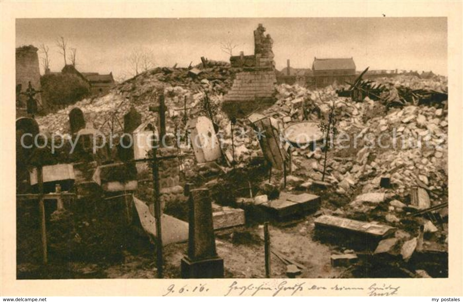 13488044 Vimy Kirche Friedhof Vimy - Non Classés