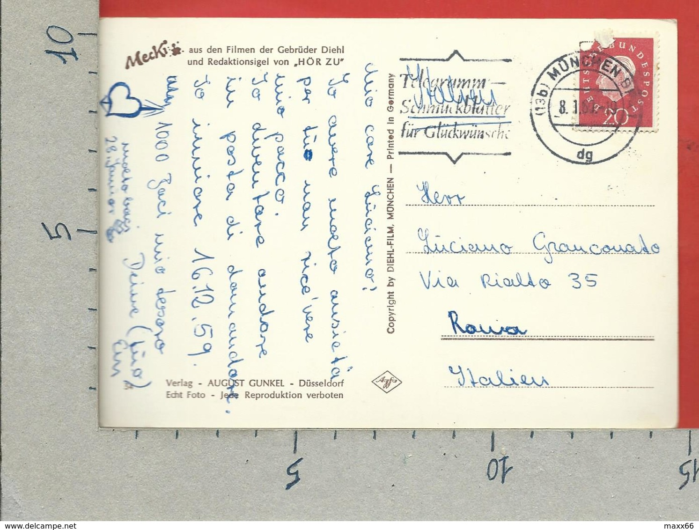 CARTOLINA VG GERMANIA - MECKI - Was Sich Liebt Das Neckt Sich ! - 10 X 15 - ANN. 1960 - Mecki