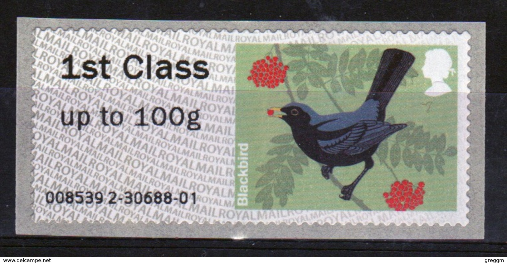 GB Post & Go Faststamps 2011 Birds Of Britain Single 1st Class - Post & Go Stamps