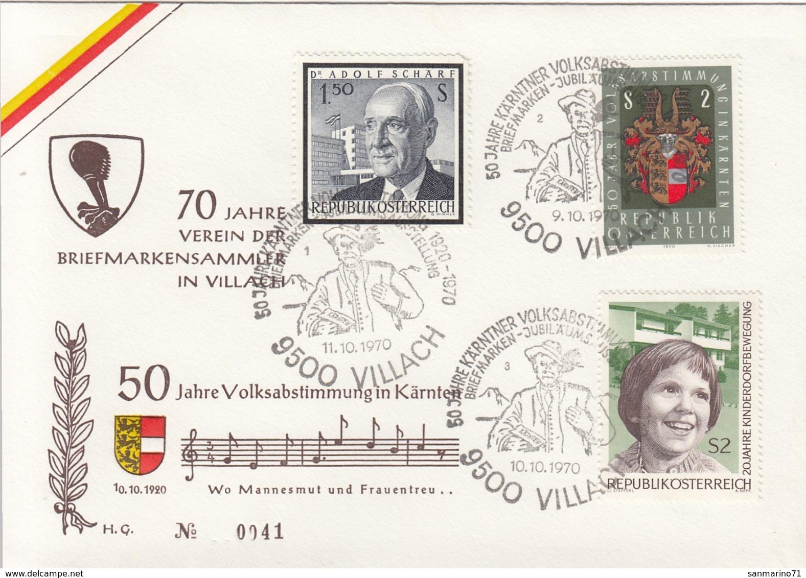 AUSTRIA FDC 1343 - Timbres