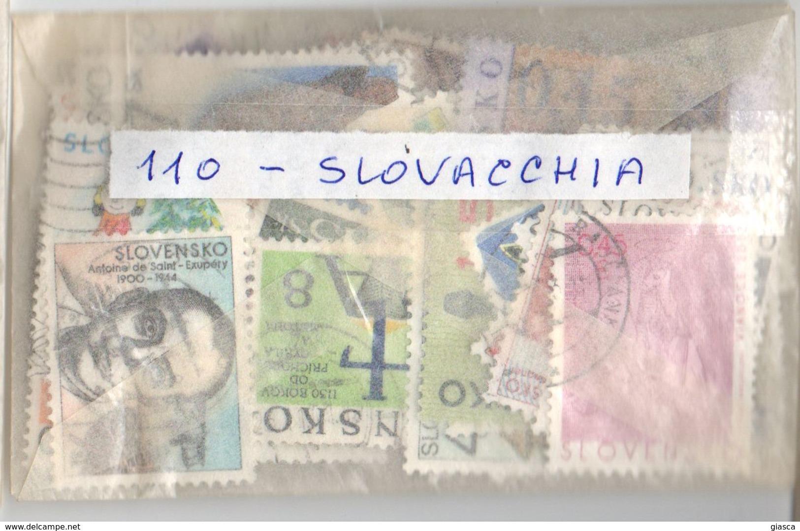 SLOVENSKO : G903  -  110 Different Pieces - Slovaquie